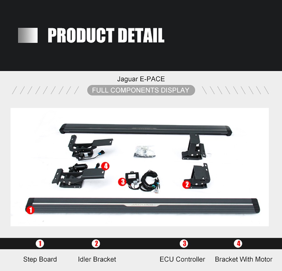 Prado Power Running Board